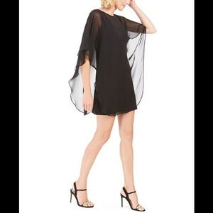 NWT Connected Chiffon & jersey Overlay Dress